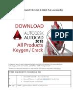 Download AutoCad 2018.docx