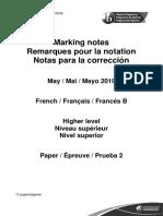 French_B_paper_2_HL_markscheme
