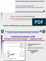 A fresh look to amplitude-modulation AFM:Force minimization, interaction measurement, and the quest for high resolution