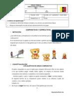 1 Corte Ciclo Vi Guia de Trabajo 1 Comparativos y Superlativos