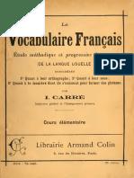 Vocabulaire 2 - CE1
