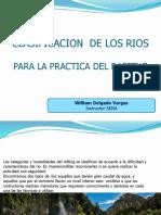 Clasificacion rafting diapositivas