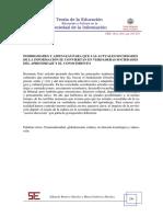 POSIBILIDADES Y AMENAZAS PARA QUE LAS ACTUALES SOCIEDADES