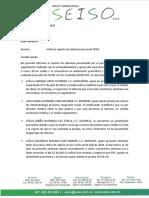 INFORME REPORTES ESAP SEISO