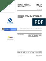 Norma-Tecnica-Sectorial-NTS-AV-010 PRIMERA ACTUALIZACION