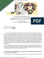 César Besó Portalés_ La ficción sentimental. Apuntes para una caracterizació