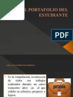 PRESENTACIÓN PORTAFOLIO DEL ESTUDIANTE 2014.pptx