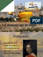 La restauración de Israel