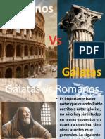 gálatas vs romanos