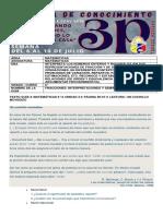 6° MATEMÁTICAS GUIA DE CONOCIMIENTO #001 3P DESARROLLO DE HABILIDADES