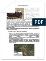 ESTUDIO AGROLÓGICO