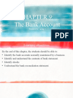 Bank Accounts, Slip, Bank Reconciliation