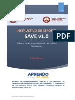 Instructivo Reporte de Acompañamiento Virtual