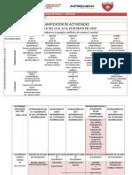 PLANIFICADOR DE ACTIVIDADES - SEMANA 8 - RUTH MORALES