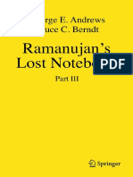 Ramanujan's Lost Notebook, Part III.pdf