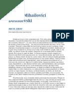 F. M. Dostoievski - Micul erou.doc