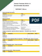 INFORME DE ESTADO D6N - 130 12-07-20