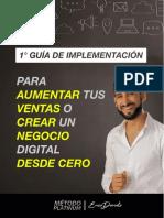 1º Guía de Implementación Workshop