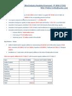 02_Key Highlights Indian Wind Industry Scorecard_FY 2016_17 (H1)