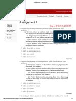 Fluid Machines - - Assessment1