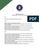 Calendario de Actividades Jose Barbosa External)