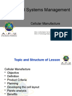 L08 Cellular manufacturng