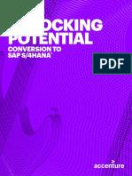 Unlocking Potential Conversion SAP S4 HANA_Accenture