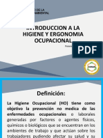 Ppt Intro a La Higiene Industrial - Monitoreo Ocupacional