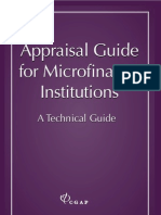 Appraisal Guide for MFIs -Technical Guide
