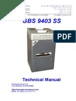 GBS9402ss - Technical Manua