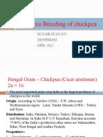 Advances Breeding of chickpea