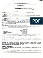 Chapter 01 - Tax Year and Residential Status