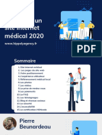 Checklist site Internet Médical - 2020