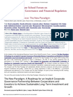 Corporate Governance_ The New Paradigm