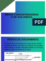 MESAS CONCENTRADORAS