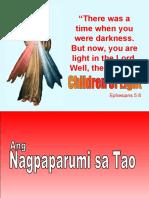 Ang Nagpaparumi sa Tao
