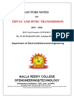 EHVAC AND HVDC DIGITAL NOTES