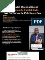 Cláusulas de Estabilidade ns Contratos de Petrólelo e Gás -Miguel Carvalho