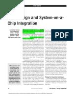 Core Design and SOC Integration