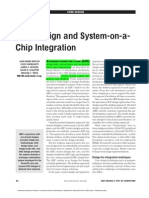 Core Design and SOC Integration