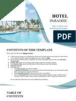 Hotel Paradise by Slidesgo.pptx