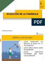 PPT 3 Ecuación de la parábola, circunferencia y elipse.pdf