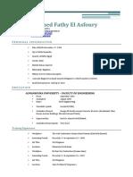 ENG FADY ASFOURY C.V