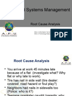 L27 Root cause analysis