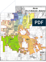 Alabaster Ward Map 2008 PDF