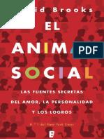 Brooks David - El Animal Social
