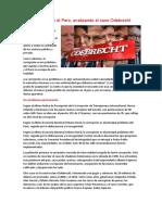 (la corrupción en el Perú)