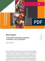 entrevista a Rita Segato