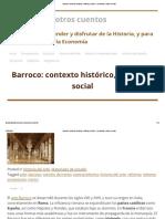 Barroco_ contexto histórico, cultural y social – La historia y otros cuentos