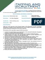 SVN_National Information Management (GIS Officer)_NOB_CXB_69-2019